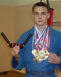 Максим Фомичев, Двукратный чемпион России (2009 и 2010) в кобудо, черный пояс по кобудо