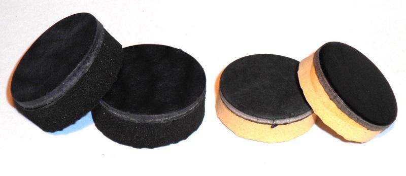 Фрикционы для тренажера Бизон-1М: слева для Стандарта, а справа для Классика